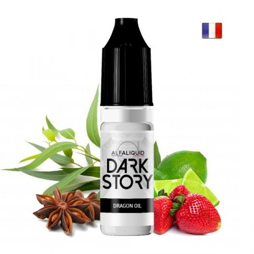 E-liquide Dragon Oil (Dark Story par Alfaliquid)
