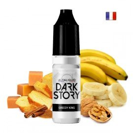E-Liquide Greedy King (Dark Story par Alfaliquid)