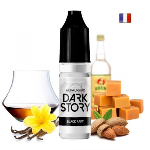 E-liquide Black Raft (Dark Story par Alfaliquid)