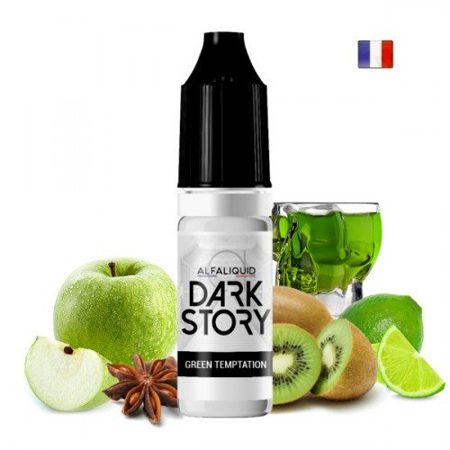 E-liquide Green Temptation (Dark Story par Alfaliquid)