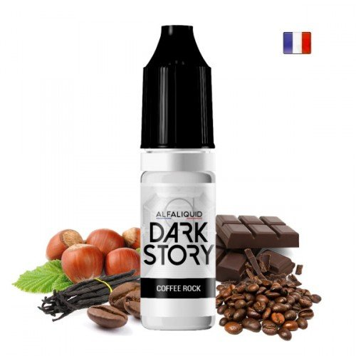 E-Liquide Coffee Rock (Dark Story par Alfaliquid)