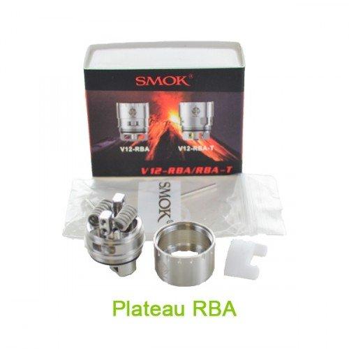 Plateau RBA pour atomiseur TFV12 de Smoktech