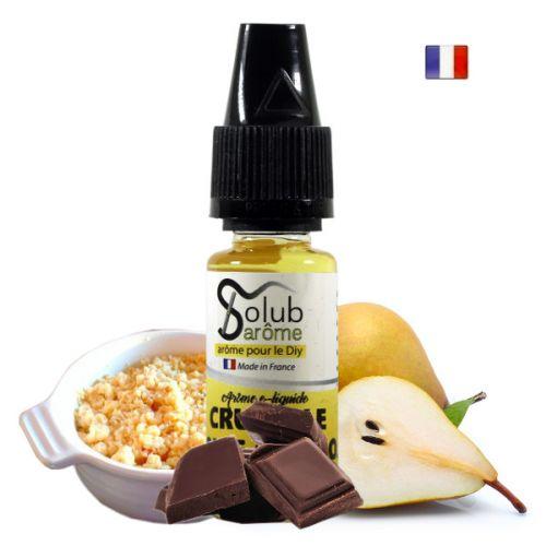 Arôme Crumble Poire Chocolat Solub