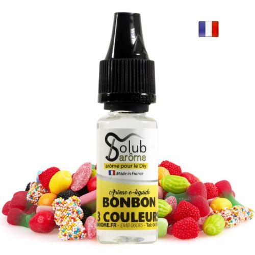 Arôme Bonbon Acidulé aux 3 Couleurs Solub