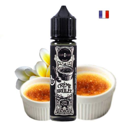 Prêt à booster Crème Brûlée Curieux E-Liquide