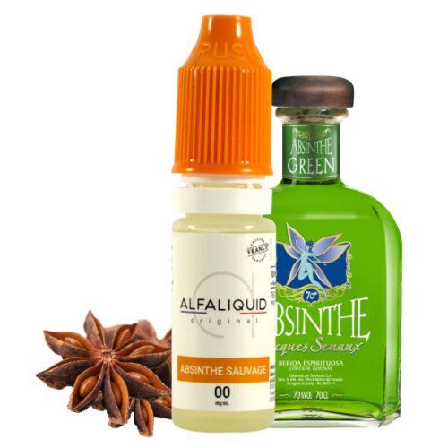 E-liquide Absinthe Sauvage Alfaliquid