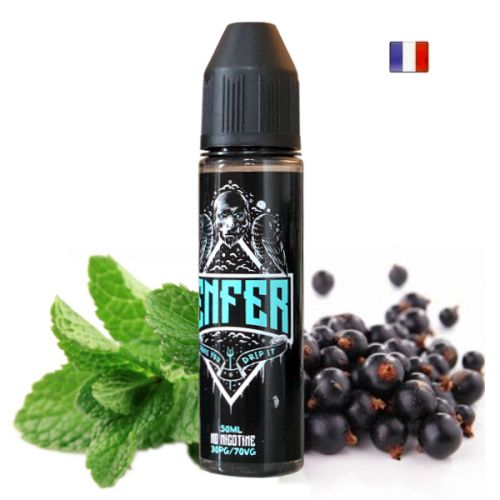 Enfer Vape47 50ml 30/70 50ml Prêt à booster