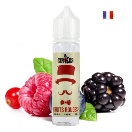 Prêt à booster 50ml Fruits Rouges Authentic Cirkus