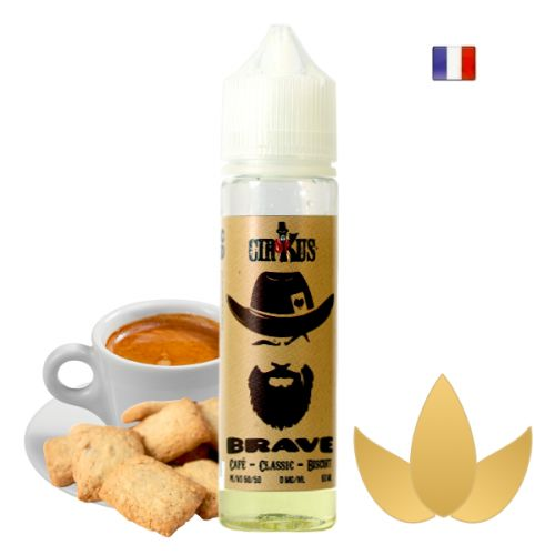 Prêt à booster 50ml Brave Authentic Cirkus