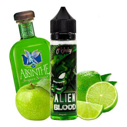 Prêt à booster 50ml Alien Blood O'Juicy