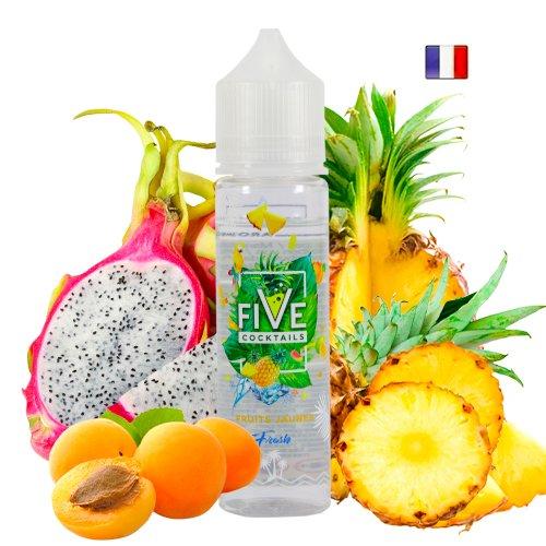 Prêt à booster 50ml Fruits Jaunes Fresh Five Coktails Vape Flam