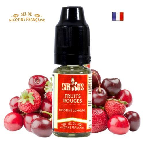 Fruits Rouges sels de nicotine Authentic Cirkus