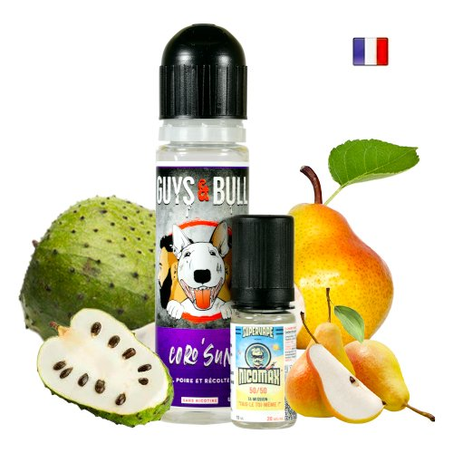 Prêt à booster 50ml Coro Sun Le French Liquid