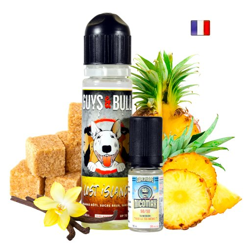 Prêt à booster 50ml Lost Island Le French Liquid