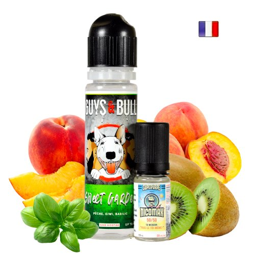 Prêt à booster 50ml Sweet Garden Le French Liquid
