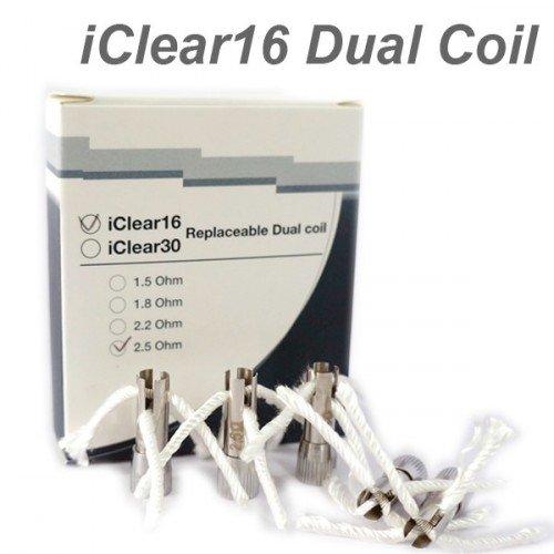 Résistances Dual Coil pour Innokin iClear16