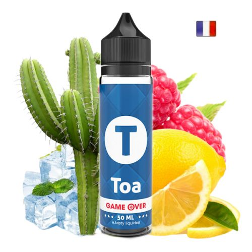 Prêt à booster 50ml Toa Game Over E-Tasty