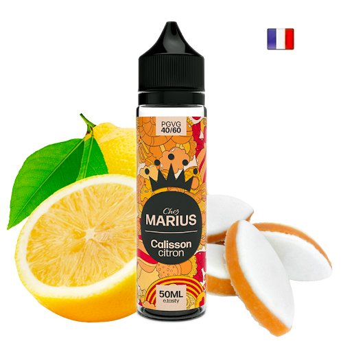 Prêt à booster 50ml Calisson Citron Chez Marius E-tasty