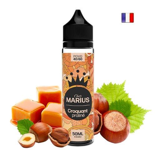 Prêt à booster 50ml Croquant Praliné Chez Marius E-tasty