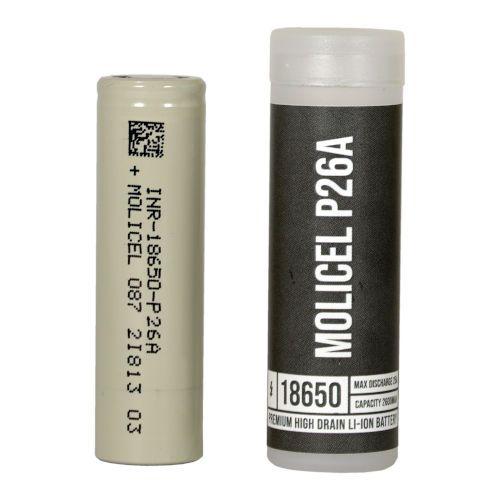 Accu Molicel P26A 2600mAh 25A