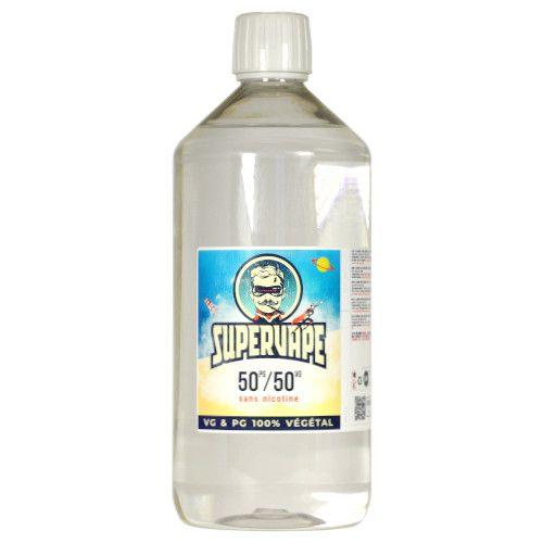 Base SuperVape 1 litre 50/50 pour e-liquide DIY