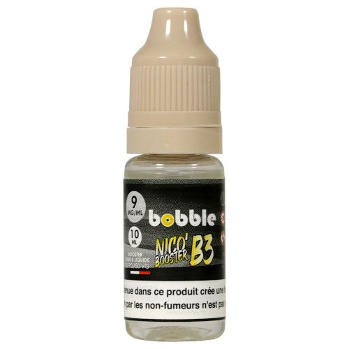 Booster de nicotine Nico'Boost B3 9mg Booble