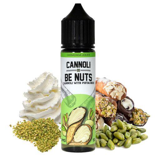Prêt à booster 50ml Cannoli Be Nuts par Cassadaga Liquids