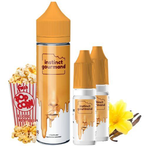 Prêt à booster Vanilla & Pop Corn Alfaliquid 40ml +2x10ml