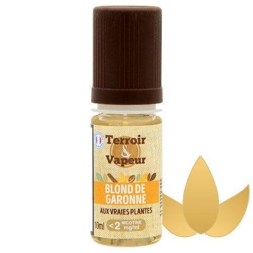 Blond de Garonne Sels de nicotine Terroir et Vapeur