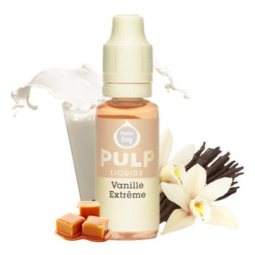 E-Liquide Vanille Extrême 20ml (Pulp)