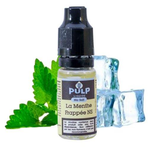 La menthe Frappée sels de nicotine Pulp