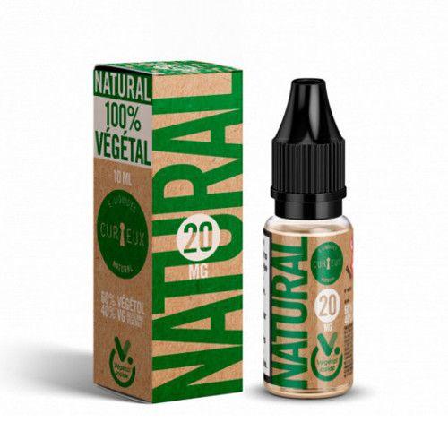 Booster au Vegetol Curieux E-liquides