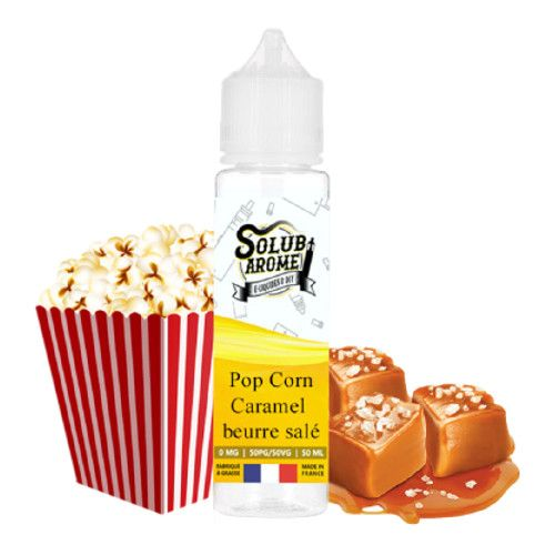 Prêt à booster Pop corn caramel beurre salé by Solubarome