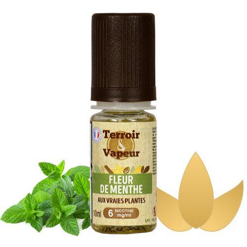 E-liquide Fleur de Menthe Terroir & Vapeur