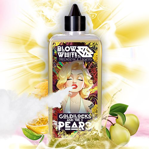Prêt à booster Goldilocks And The 3 Pears 80ml Blow White
