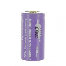 Accus EFEST 18350 IMR Purple Nipple Top 700 mAh 10,5A