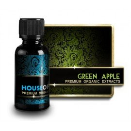 Pack de 5 flacons 10ml - E-liquide Green Apple (Premium Organic)