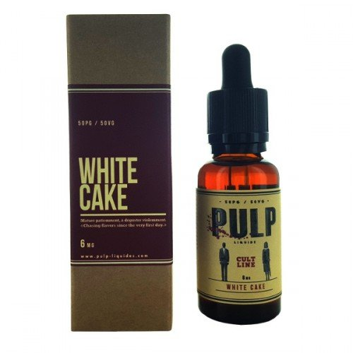 E-Liquide White Cake 30ml (Cult Line by Pulp)