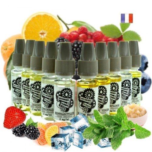 Pack 11 e-liquides Pièces Détachées 10ml (Mécanique des Fluides)