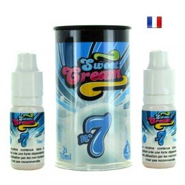 E-Liquide Sweet Cream N°7 (Eliquide France)