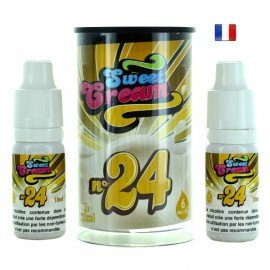 E-Liquide Sweet Cream N°24 (Eliquid France)