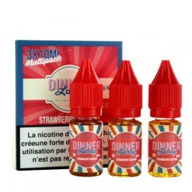 E-Liquide Strawberry Custard - Dinner Lady