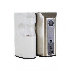 Kit Box Aster RT 100W par Eleaf, en couleur Blanc et Acier