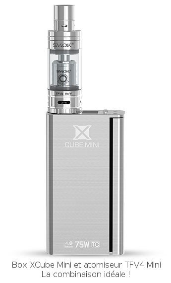 Pack XCube Mini et TFV4 Mini Smoktech