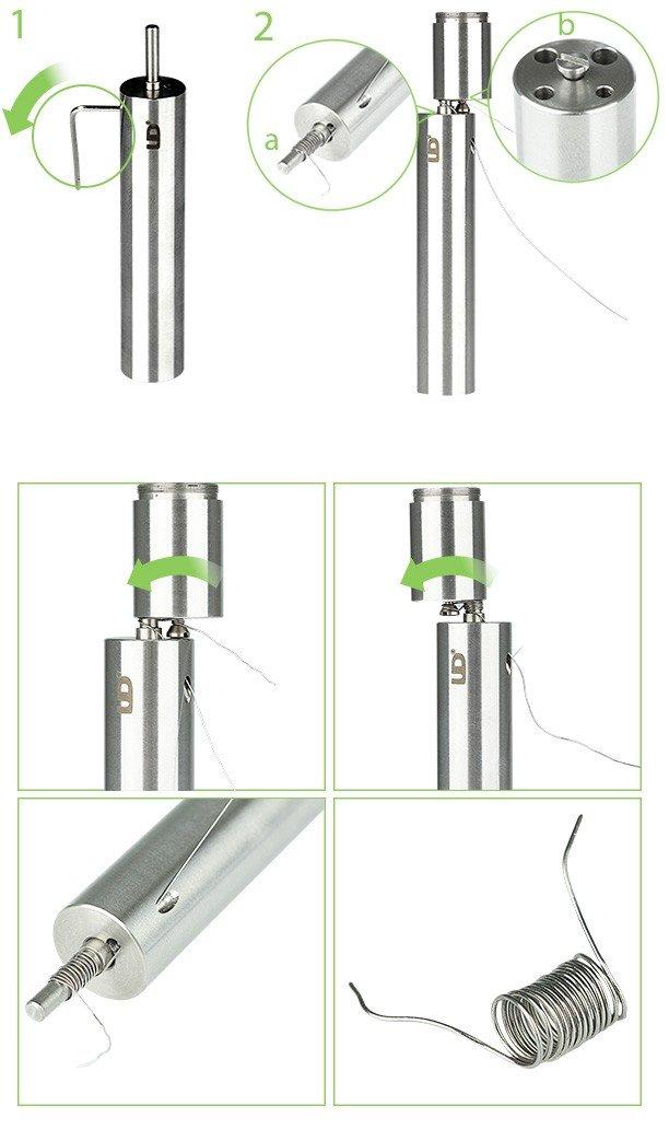 Comment fabriquer son micro coils avec le coiler Coil Jig UD