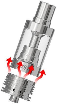 Nouveau design de la base de l'atomiseur iJust2